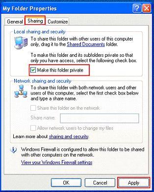 Microsoft Private Folder - фото 5